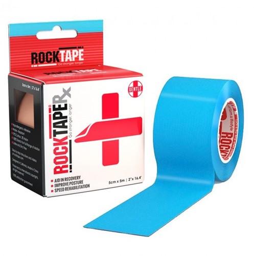 RockTape RX Kinesiotape - Sporttape - 5 cm x 5 m - Blauw