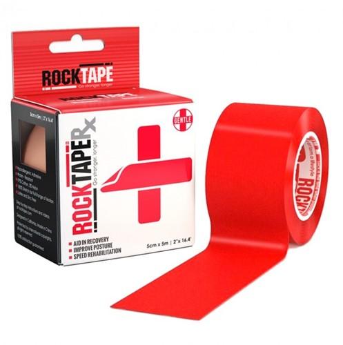 RockTape RX Kinesiotape - Sporttape - 5 cm x 5 m - Rood