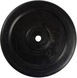 VirtuFit Rubberen Schijf 30 mm - 20 kg