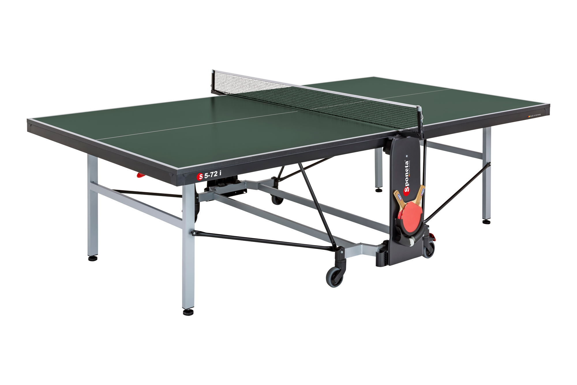Sponeta S5-72i tafeltennistafel schoolline compact plus groen