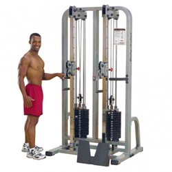 Body-Solid Pro Club Line Dual Cable Column