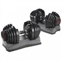 Selecttech Dumbellset (2 tot 24 kg)-1