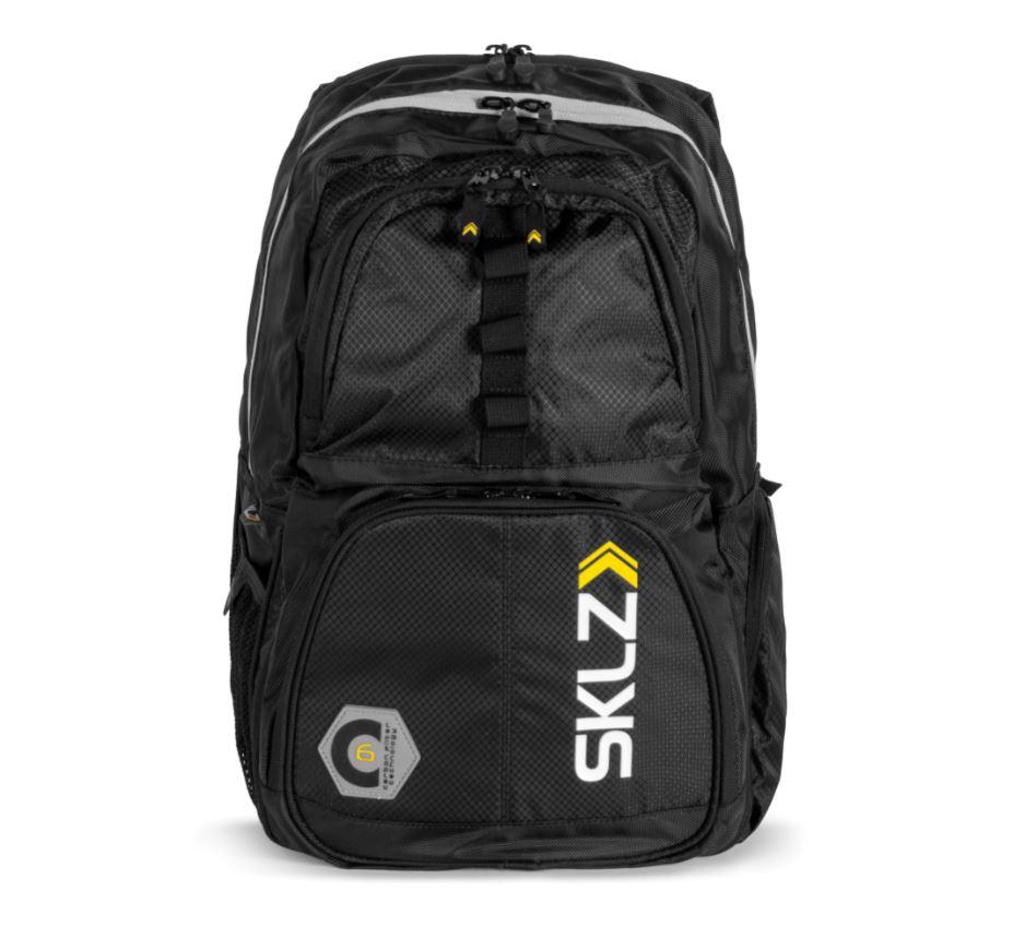 7cfed577218 De functionele sklz backpack rugtas is sterk genoeg voor serieuze sporters  en stijlvol genoeg om mee