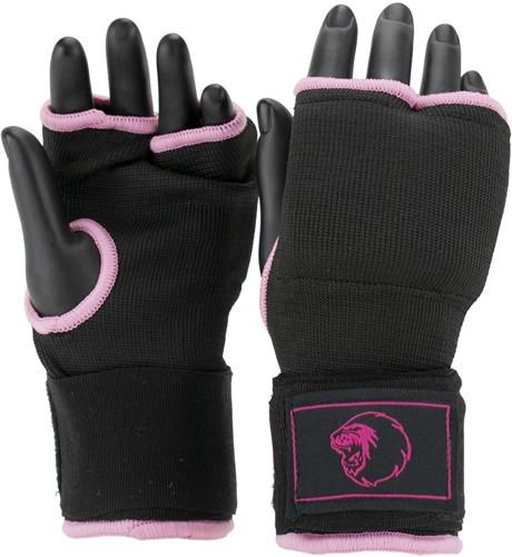 Super Pro Combat Gear Foam Binnenhandschoenen - Zwart/Roze