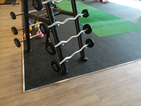 Sportvloer Rol - 1000 x 125 x 6 cm - Zwart-3