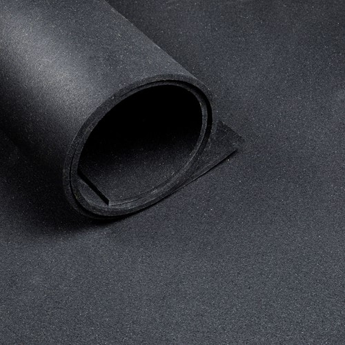 Sportvloer Rol - 1000 x 125 x 6 cm - Zwart-2