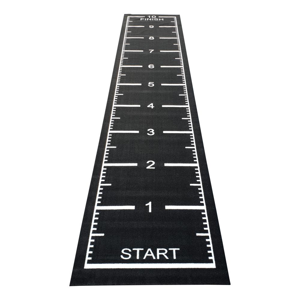 Sprinttrack Kunstgras 1050 x 200 x 1,6 cm Zwart