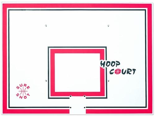 Sureshot Backboard pp-compositie - 120 x 90 - Rechthoekig