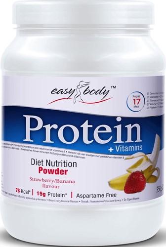 QNT - Easy Body Diet Protein Powder - Eiwit Poeder - 350 gram - Strawberry Banana