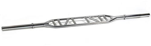 Muscle Power Swiss Bar - Chroom - 230 cm