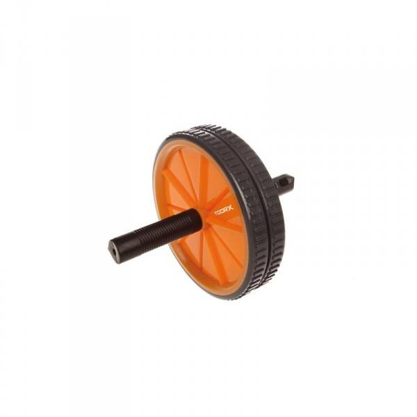 Toorx fitness toorx dual ab wheel dubbele trainingswiel