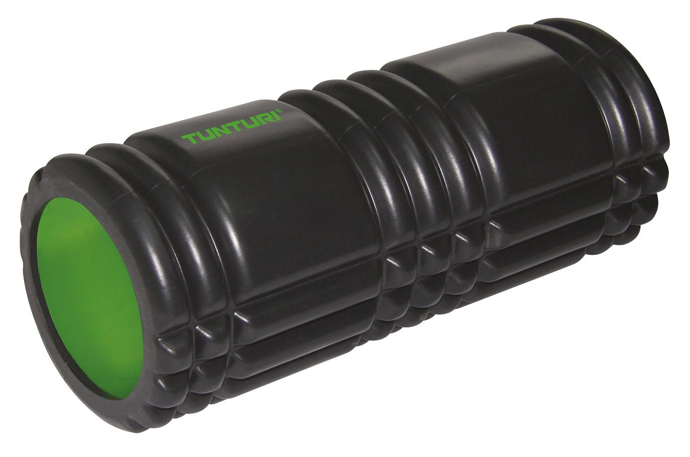 Tunturi Yoga Foam Grid Roller 33 cm Black