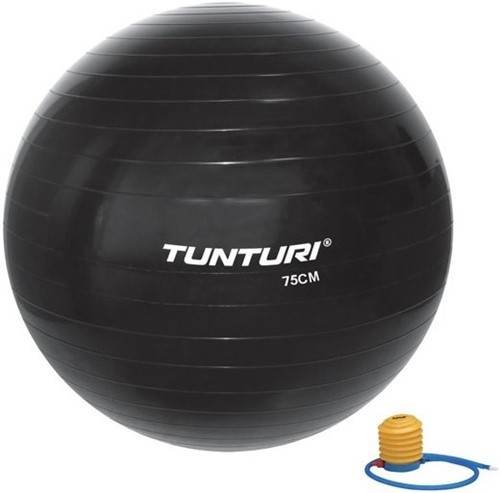 Tunturi Gymball 90cm - Zwart