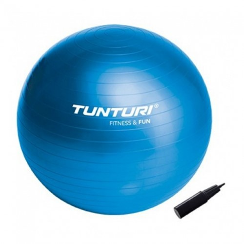 Tunturi Fitnessbal Blauw