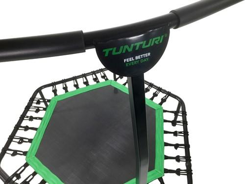 Tunturi Hexa Fitness Trampoline met verstelbare handgreep-3