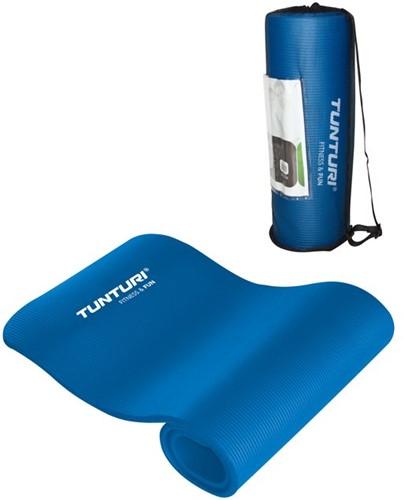 Tunturi NBR Fitnessmat Tunturi - Blauw