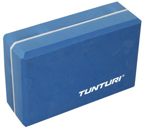 Tunturi Yoga Blok - Blue/White