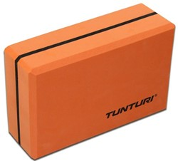 Tunturi Yoga Blok - Orange/Black