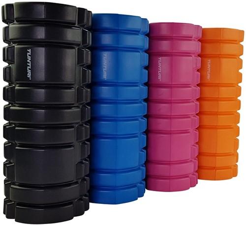 Tunturi Yoga Foam Grid Roller - Roze-2