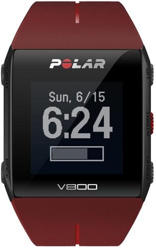 Polar V800 Red HR-2