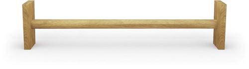 Nohrd WallBar Verhoging - 21,5 cm - Eiken