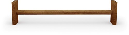 Nohrd WallBar Verhoging - 21,5 cm - Kersen