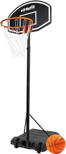 VirtuFit Verstelbare Basketbalpaal - 170 tot 215 cm - Met Bal en Pomp