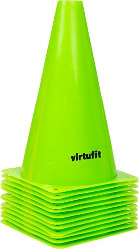 VirtuFit Pionnen Set - 23 cm - 12 Stuks - Groen