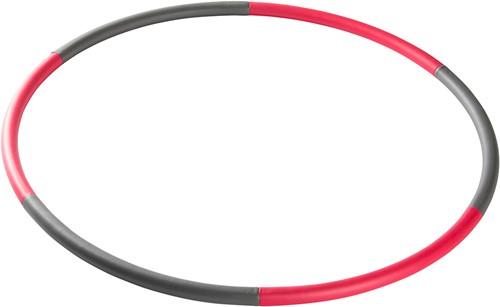 VirtuFit Fitness Hoelahoep - Hoepel -  0,74 kg - Rood/Grijs