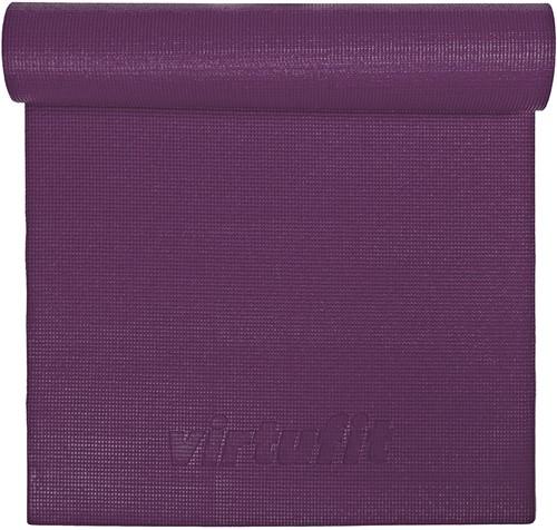 VirtuFit Premium Yogamat - 183 x 61 x 0,6 cm - Mulberry