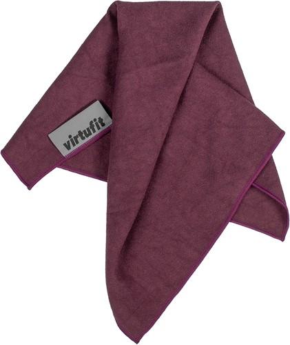 VirtuFit Premium Yoga Handdoek - 76 x 51 cm - Mulberry