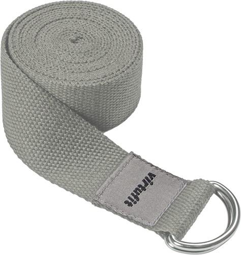 VirtuFit Premium Yoga Riem - 250 cm - Natural Grey