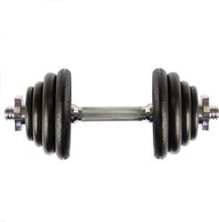 VirtuFit Dumbellset Gietijzer 15 kg
