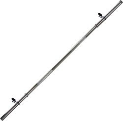 VirtuFit Halterstang 120 cm veerclip 30 mm