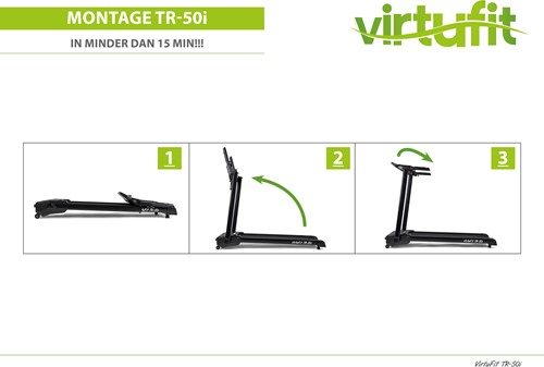 VirtuFit Totally Foldable TR-50i Loopband - Gratis trainingsschema-3