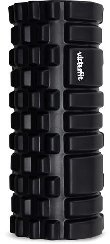 VirtuFit Grid Foam Roller 33 cm Zwart-2