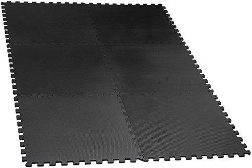 VirtuFit Fitness Puzzelmat - Vloermat - 6-delig - 180 x 120 cm - Zwart-2