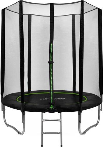 VirtuFit Trampoline met Veiligheidsnet - Zwart - 183 cm - Tweedekans