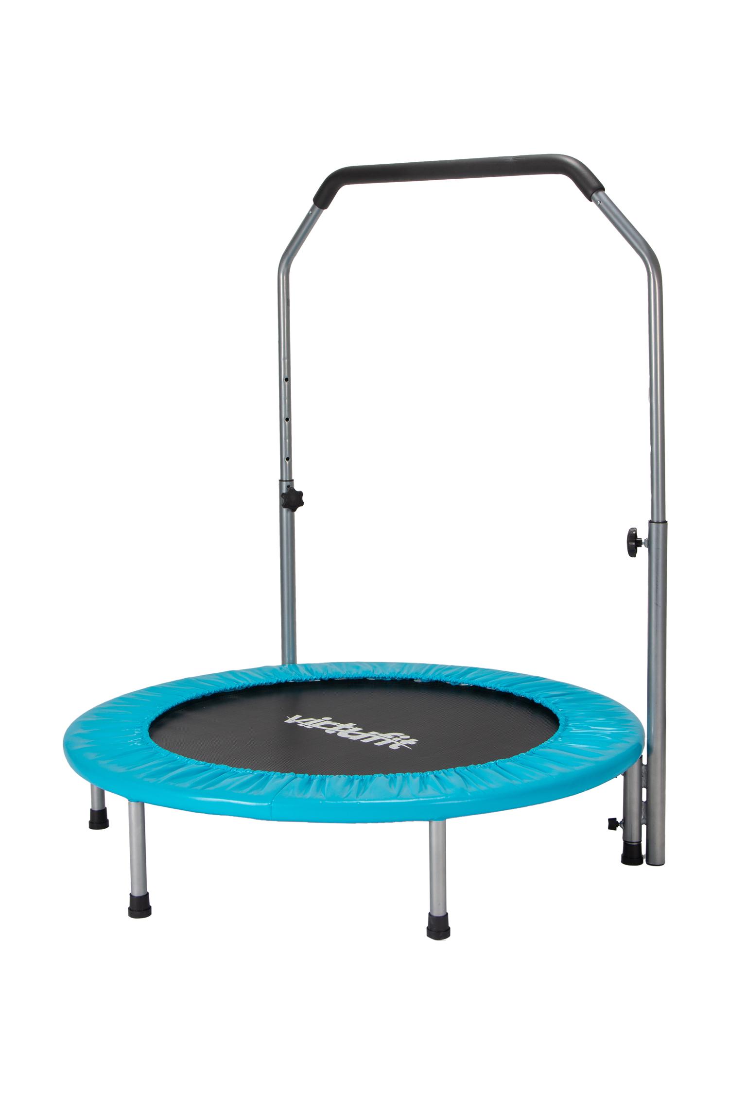 VirtuFit Opvouwbare Fitness Trampoline met Handvat 100 cm