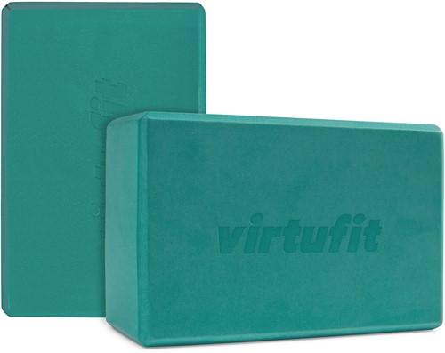 VirtuFit Premium Yoga Blok Duopack - Ocean Green