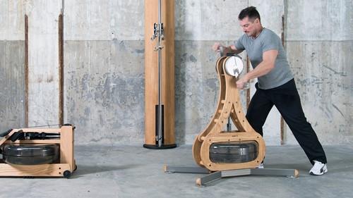 Nohrd WaterGrinder Essenhout Roeitrainer - Gratis trainingsschema