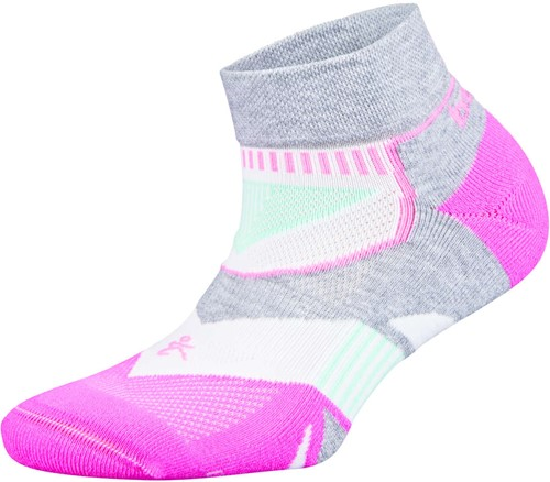 Balega Women Enduro Low Cut Sportsok Roze/Wit