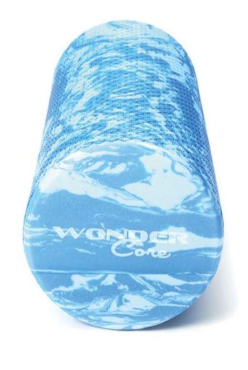 Wonder Core Foam Roller 90 cm Blue Marble