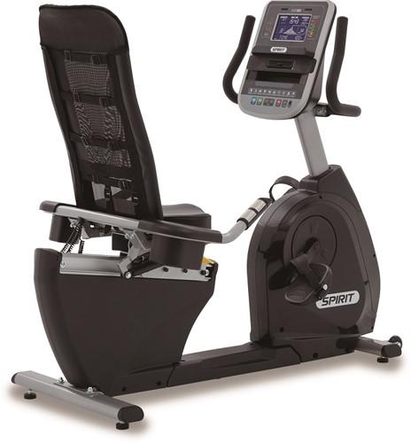 Spirit Fitness Home XBR95 Recumbent Bike - Ligfiets - Gratis trainingsschema